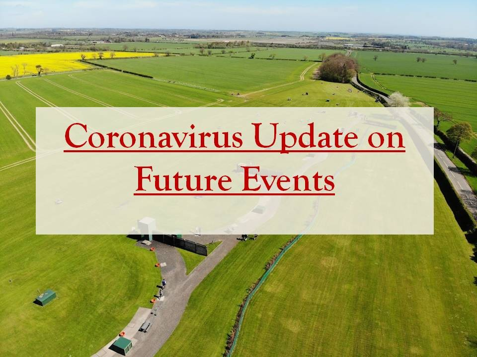 Coronavirus Update on Future Events